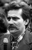 Young Lech Walesa photographed by Erazm Ciolek